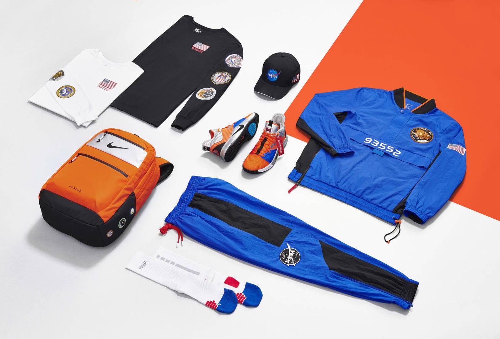 Nike e NASA se unem em novo tênis PG3 para astro da NBA Foto 12