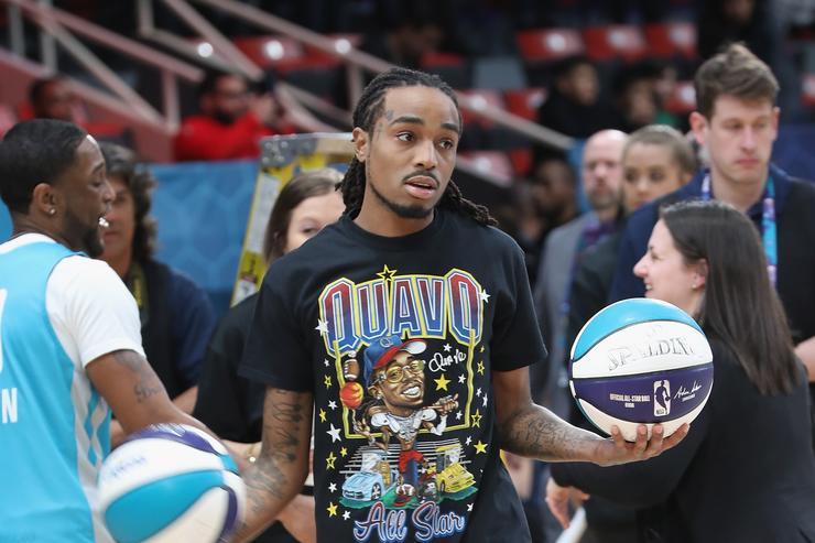 a8955acad91 Quavo faz 27 pontos mas perde MVP no Jogo das Celebridades da NBA ...