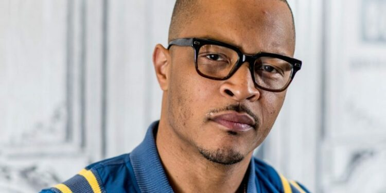 """NEW YORK, NY - APRIL 07: Rapper T.I. discusses """"T.I. & Tiny: The Family Hustle"""" with the Bulid Series at Build Studio on April 7, 2017 in New York City.  (Photo by Roy Rochlin/FilmMagic)"""