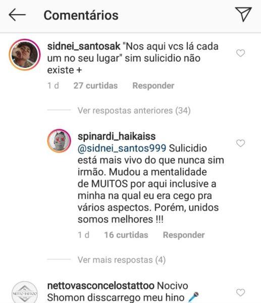 """Diomedes Chinaski responde críticas após anunciar música com Spinardi: """"Eu sou o Sulicídio"""" 3"""