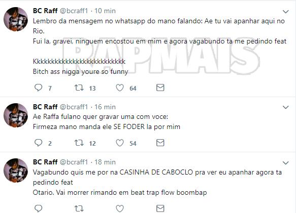Raffa Moreira diz que não fará shows no Rio de Janeiro por culpa do Portal Rap Mais 5