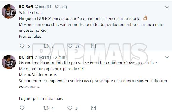 Raffa Moreira diz que não fará shows no Rio de Janeiro por culpa do Portal Rap Mais 9