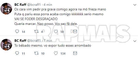 Raffa Moreira diz que não fará shows no Rio de Janeiro por culpa do Portal Rap Mais 10
