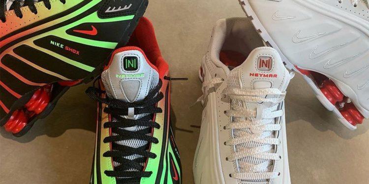 Nike irá lançar collab do tênis Shox R4 com Neymar em breve