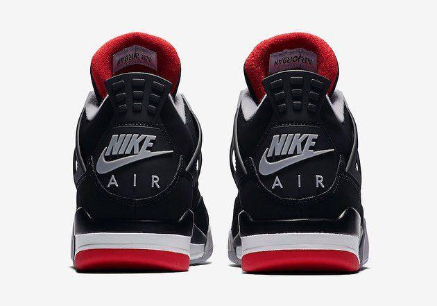 "2be4722a09b Tênis Nike Air Jordan 4 ""Bred"" será lançado nos próximos dias no Brasil 1  ..."