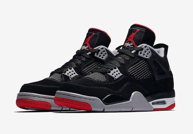 """0a5f28c7292 ... Tênis Nike Air Jordan 4 """"Bred"""" será lançado nos próximos dias no Brasil  4"""