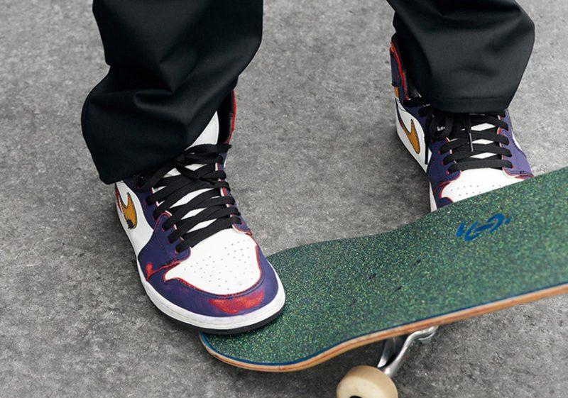 Nike SB x Air Jordan 1 que muda de cor com desgaste será lançado nesta semana Foto 2