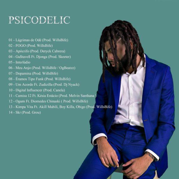 Coruja BC1 revela capa e tracklist de seu novo álbum Psicodelic 1