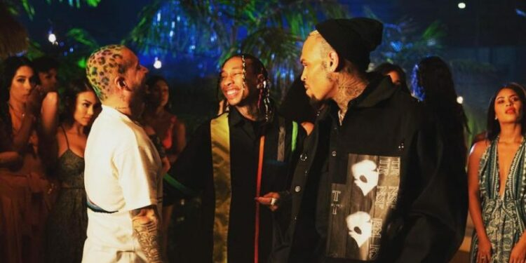 Chris Brown Tyga J Balvin