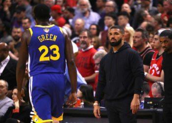 "edc18fe7a94 Warriors colocam diss ""The Story Of Adidon"" para provocar Drake nas finais  da NBA"