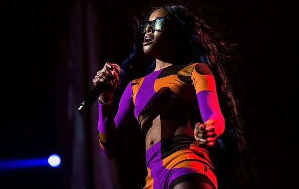 BYRON BAY, AUSTRALIA - JULY 25:  Azealia Banks performs for fans during Splendour in the Grass on July 25, 2015 in Byron Bay, Australia.  (Photo by Cassandra Hannagan/Getty Images)