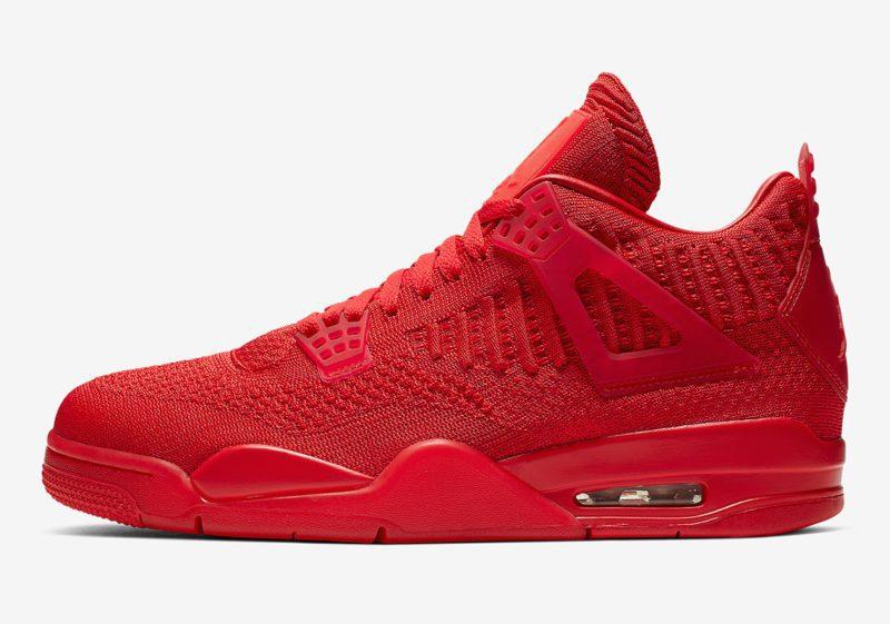"""Nike Air Jordan 4 Flyknit """"Red"""" será lançado nesta sexta 2"""