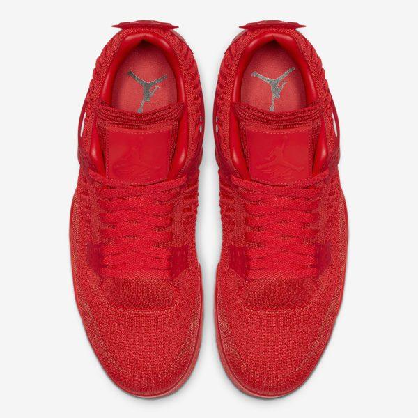 """Nike Air Jordan 4 Flyknit """"Red"""" será lançado nesta sexta 4"""