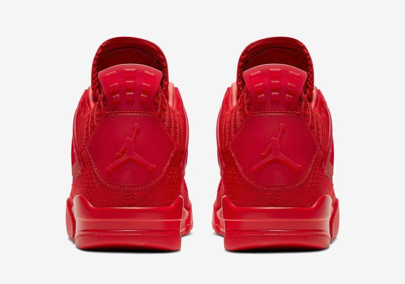 """Nike Air Jordan 4 Flyknit """"Red"""" será lançado nesta sexta 5"""