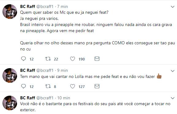 Raffa Moreira diz que não fará shows no Rio de Janeiro por culpa do Portal Rap Mais 3