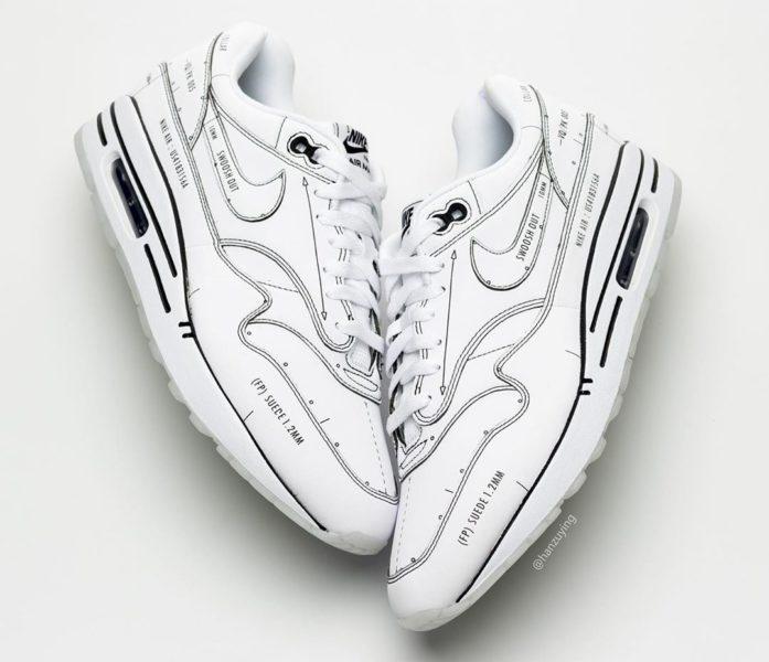 """Nike Air Max 1 """"Sketch to Shelf"""" será lançado neste fim de semana 2"""