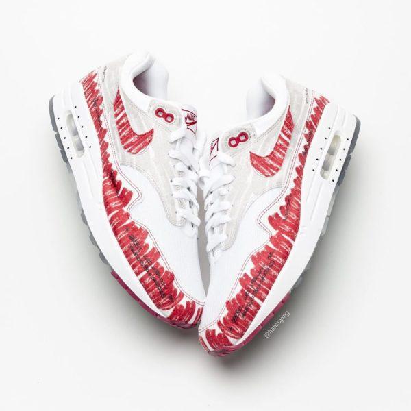 """Nike Air Max 1 """"Sketch to Shelf"""" será lançado neste fim de semana 4"""