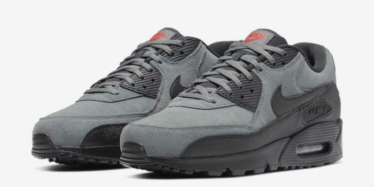 Nike Air Max 90 Essential Grey Suede AJ1285 025 Release Date 4