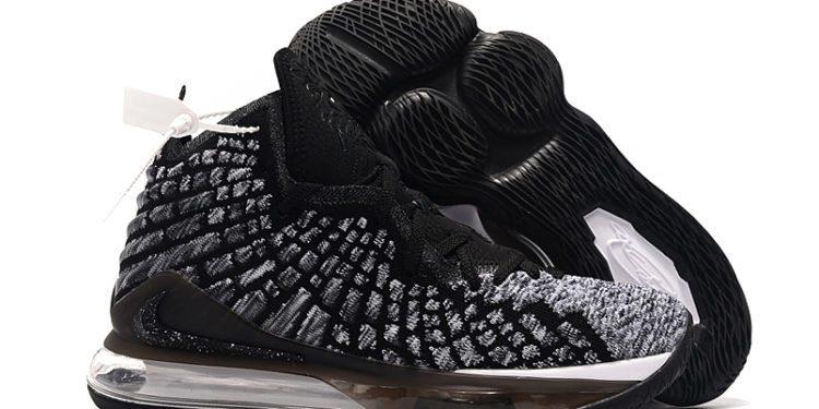 Nike LeBron 17 Black White