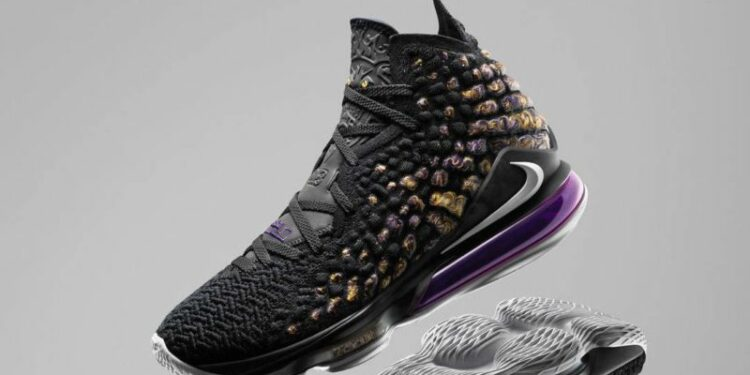 NikeNews HO19 BB LeBron17 Purple Gold Hero native 1600 e1569469176465