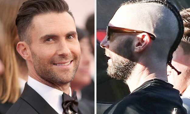 adam levine shaved his head and got cornrows and 2 346 1569424437 0 dblbig