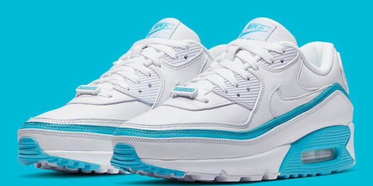 undefeated nike air max 90 white blue fury CJ7197 102 photos 1