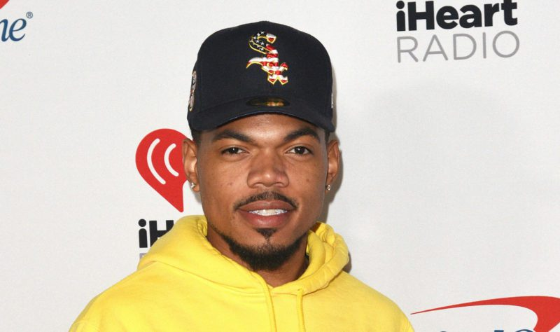 Mandatory Credit: Photo by imageSPACE/Shutterstock (10420615do) Chance The Rapper iHeartRadio Music Festival, Arrivals, Day 2, Las Vegas, USA - 21 Sep 2019