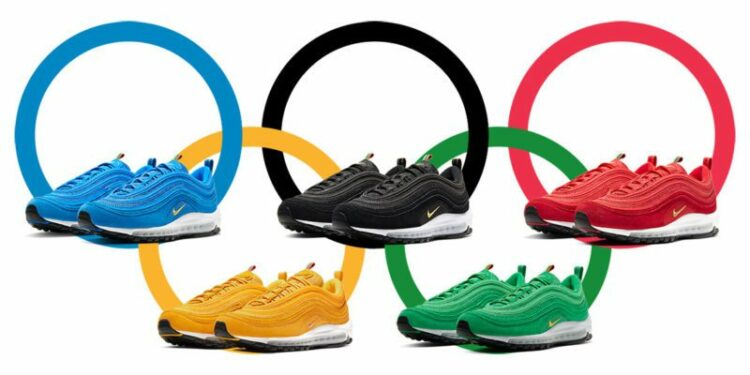 nike air max 97 olympic rings pack release info