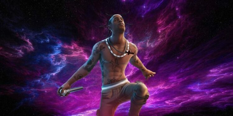 Fortnite Travis Scott Astronomical Leaked Skins and Cosmetics