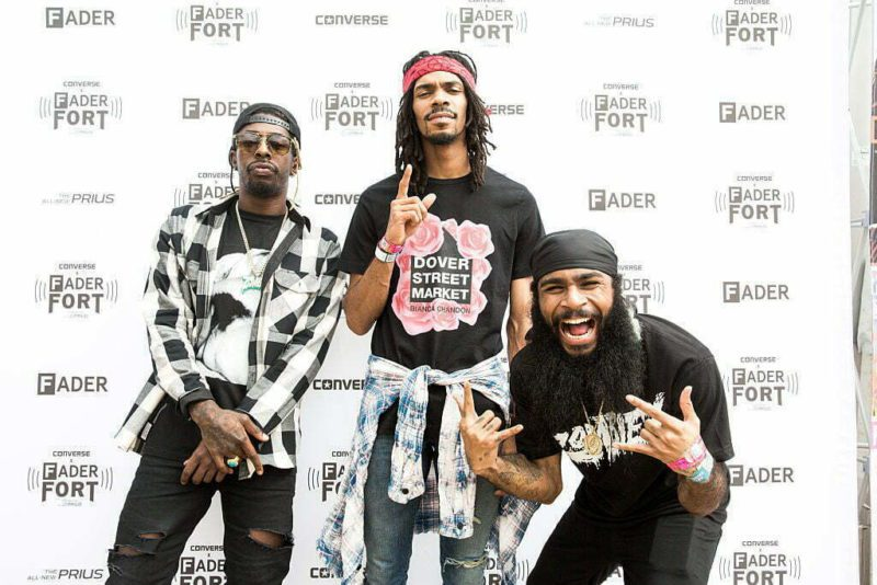 AUSTIN, TX - MARCH 17:   Members of the Flatbush Zombies attend the FADER FORT presented by Converse during SXSW on March 17, 2016 in Austin, Texas.  (Photo by Roger Kisby/Getty Images)