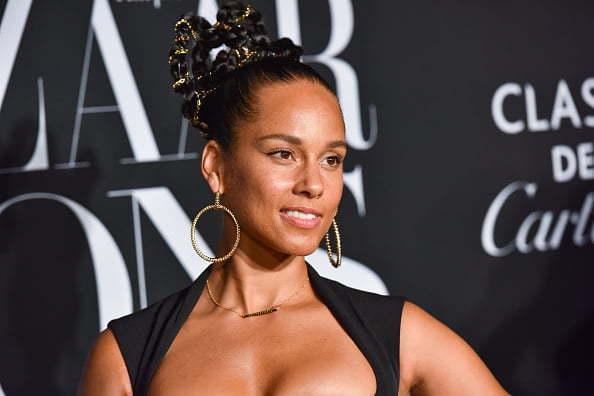 NEW YORK, NEW YORK - SEPTEMBER 06: Alicia Keys attends Harper's BAZAAR (Photo by Sean Zanni/Patrick McMullan via Getty Images)