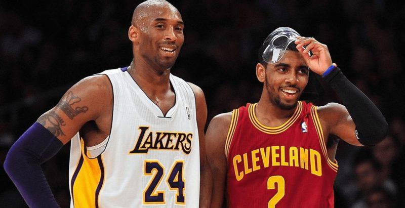Kyrie Irving fala sobre sua grande admiração por Kobe Bryant