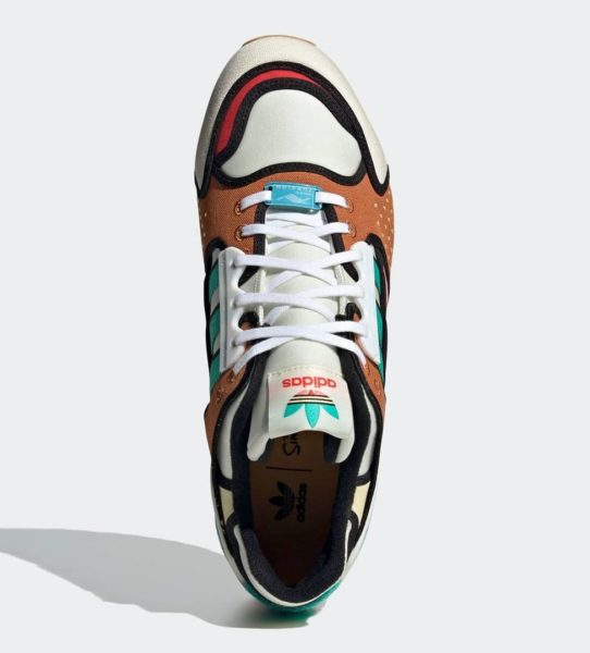 the simpsons adidas zx 10000 krusty burger h05783 top