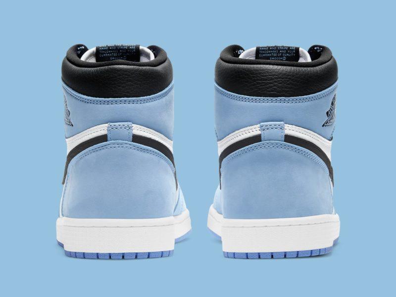 air jordan 1 university blue release date 555088 134 heel