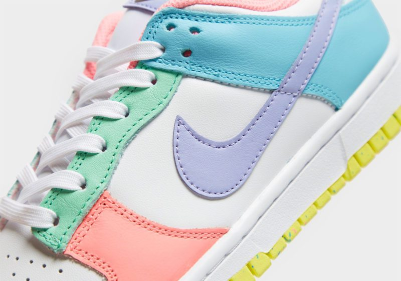 nike dunk low womens light soft pink ghost lime ice DD1503 600 3