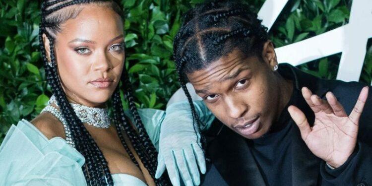 Capa Asap Rocky e Rihanna