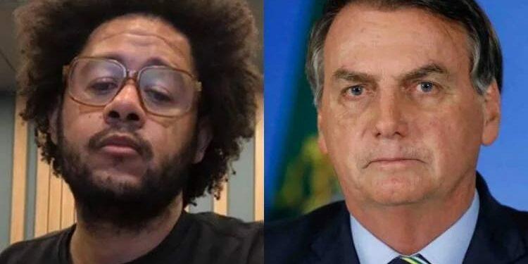 Capa Emicida e Bolsonaro