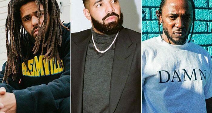 Capa J cole Drake Kendrick Lamar