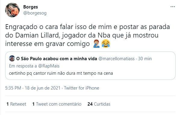 Resposta do Borges