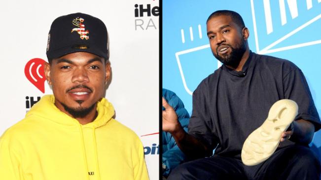 Capa Chance e Kanye