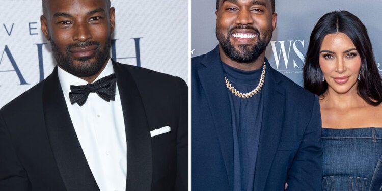 NA Tyson Beckford Kanye West Kim offplatform