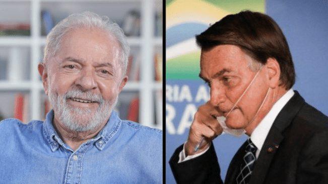 Capa Lula e Bolsonaro
